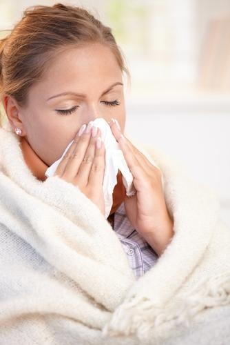 What is causing post nasal drip for multiple people in the same house?