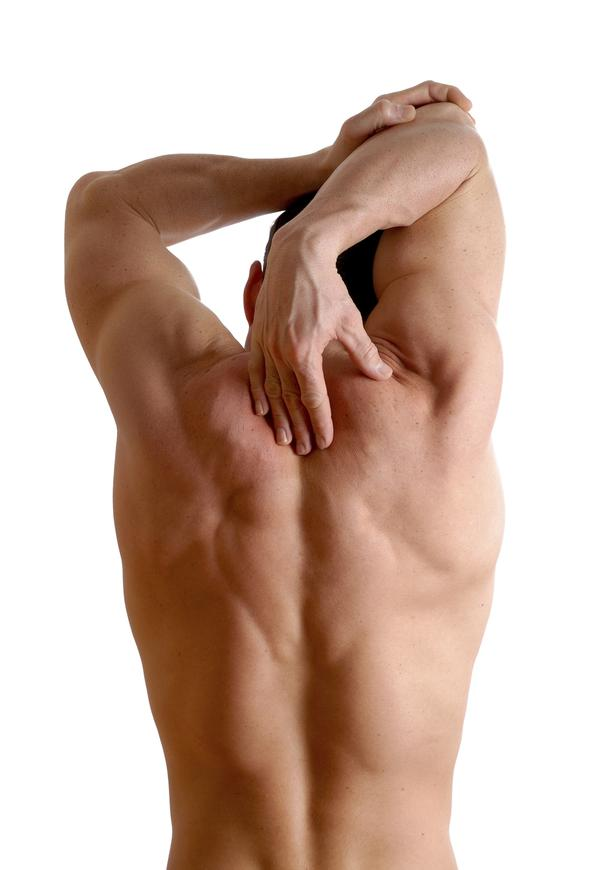What causes sharp upper back pain when taking a deep breath?