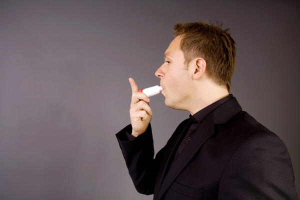 Can asthma cause yawning,burping alongwith struggling to catch breath?