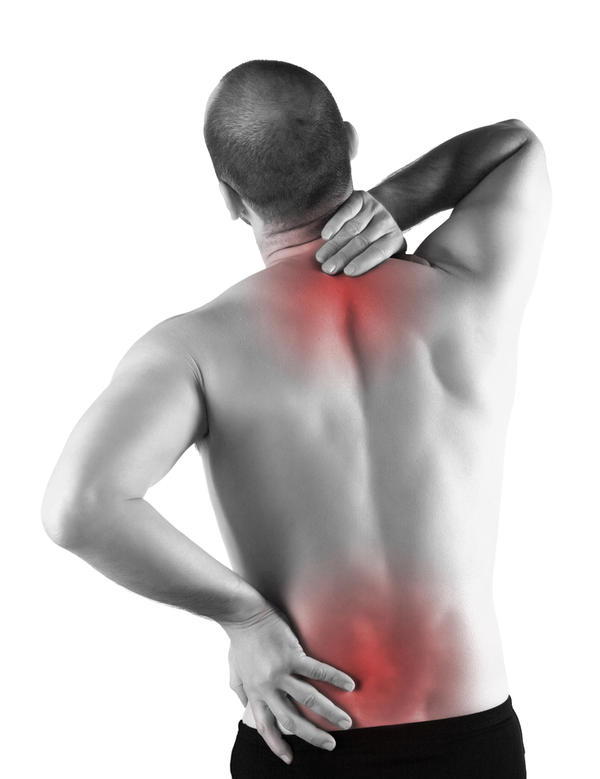 Sharp pain in upper back on the side every couple min all night and day, what do you think it is?