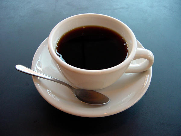 Black coffee a natural laxative?