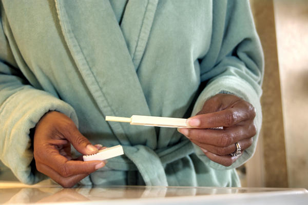 How soon after conception will a pregnancy test show up positive?