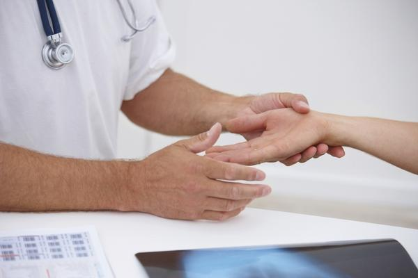What are ways that your wrist can get sprained?