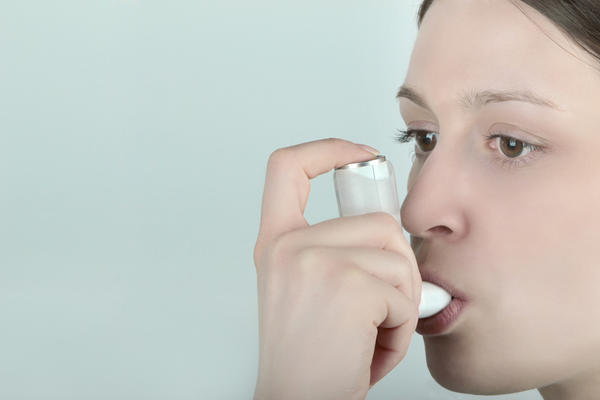 Why will a person who has childhood asthma, occasionally receives a little shortness of breath?