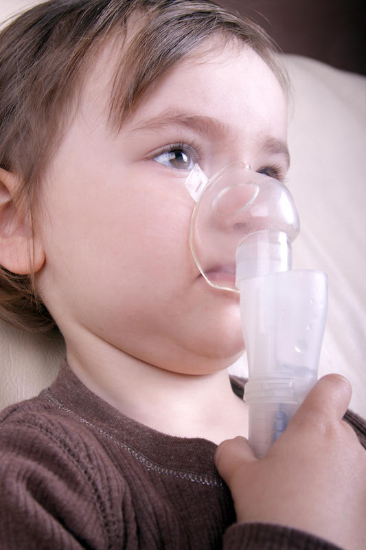 "Other than asthma and ""chronic lung disease"", what can cause chronic pneumonia?"