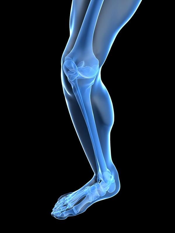 What is treatment for knee joint stiffness and pain?