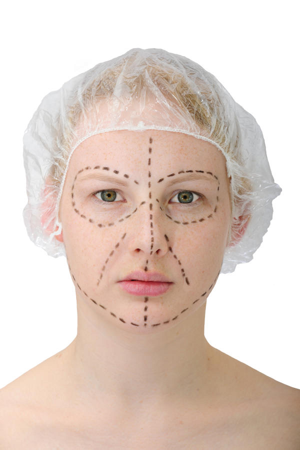 Is it possible to get a facelift and a partial hysterectomy at the same time?