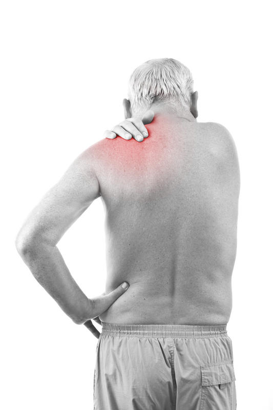 Is it possible to pull a muscle in my shoulder blades?