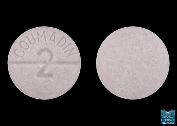 Can you die from taking 41 warfarin 2.5 tablets?