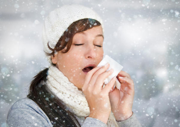How can I prevent getting a cold in a house of sick people?