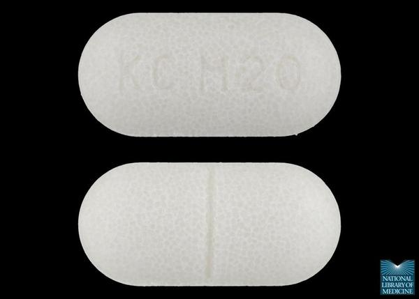 Could you take hydrochlorothiazide pills with potassium pills?