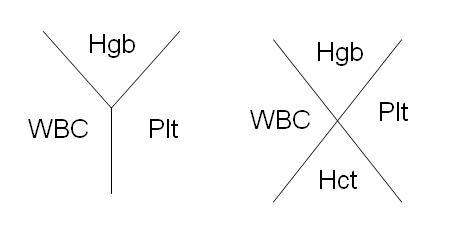 What could a high RDW indicate when all other levels of a CBC  are in the normal range?