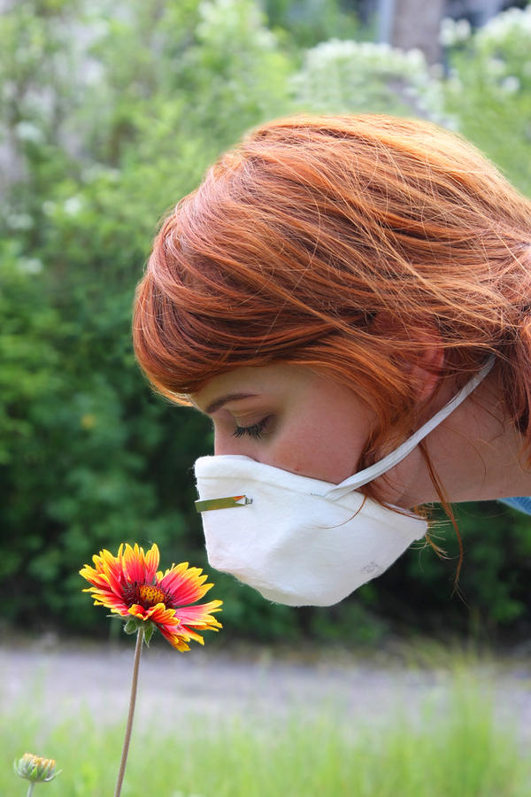 Can a pollen allergy cause you to choke?