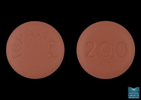 What exactly does generic topamax (topiramate) looks like?