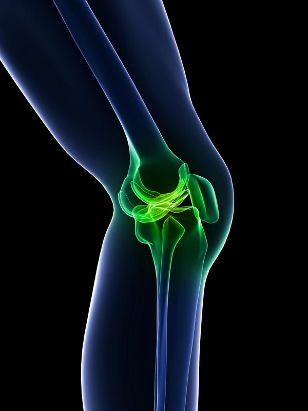 Is it normal for your knee replacement to snap when you put your leg into a frog leg type position?