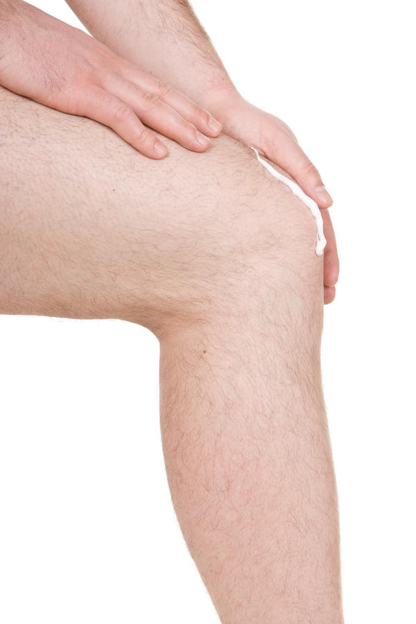 What does it mean to hyper-extended your knee?