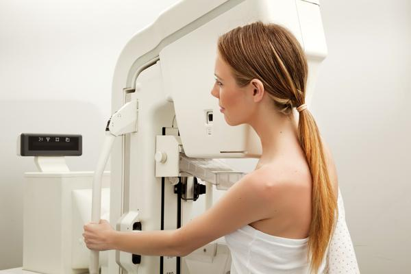 Can you tell me what to expect with someone who has got their first mammogram in their 50's?