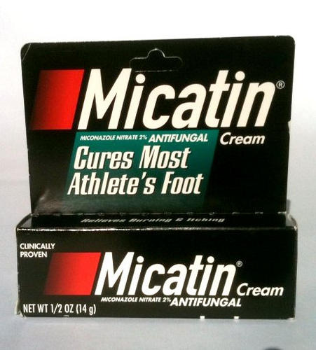 Will miconazole nitrate vaginal cream 2% treat ringworm on the skin?