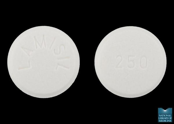 Lamisil (terbinafine) side effects after stopping the drug?