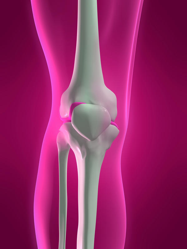 What should I do to stop my knee swelling now?