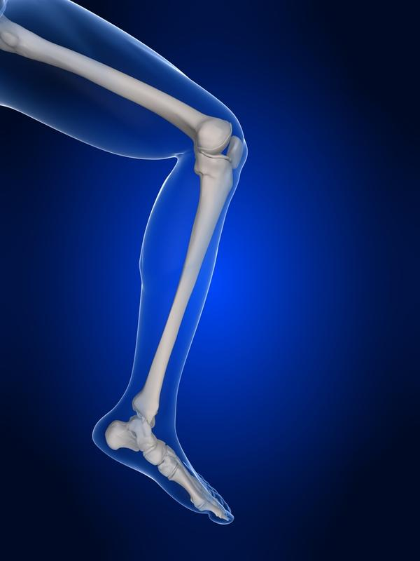 What is the remedy for right leg knee pain?