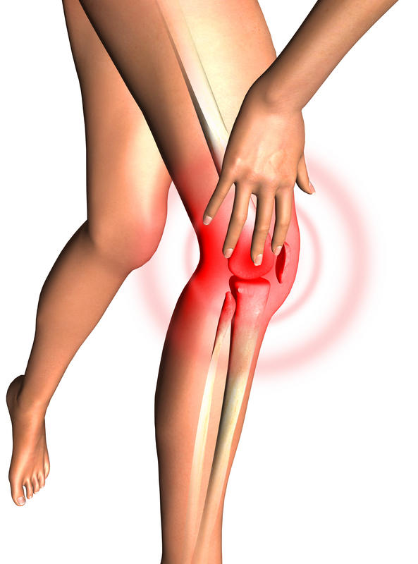 How should I treat a torn meniscus?