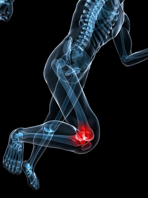 How can you treat a knee injury from soccer?