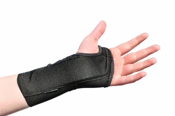Is there a way to continue training even with a broken wrist?
