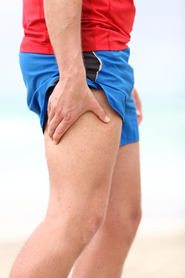 What is the definition or description of: upper leg pain?