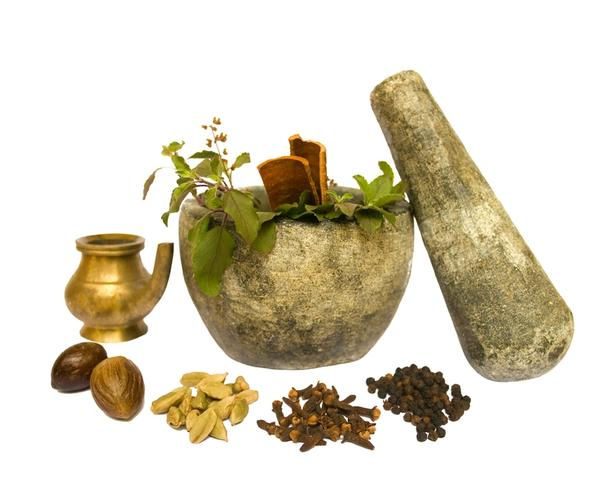 What is done in ayurveda?