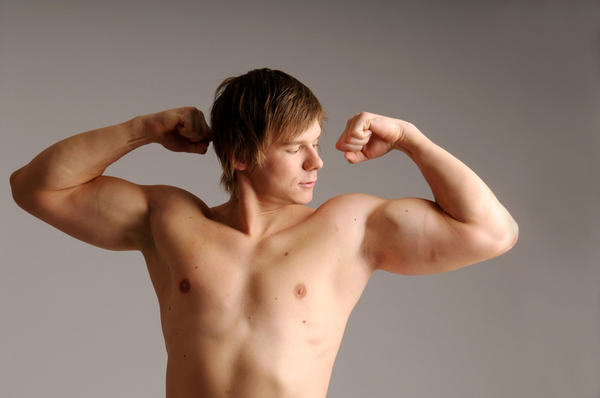 Can you tell me about bodybuilding. I gained 0.8 inches of biceps in 10 days. No steroid or protein?