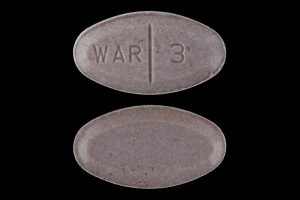 What cold medicine can you take with warfarin?
