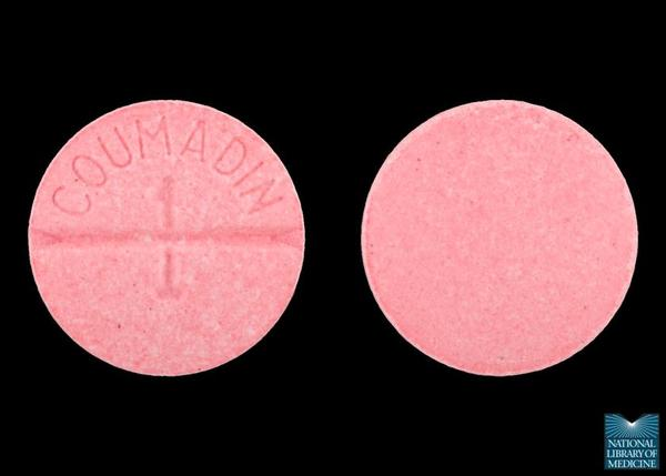 How long should I take warfarin tablets post abortion?
