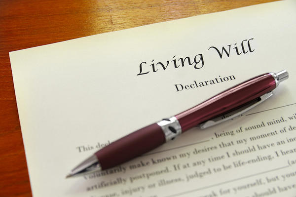 Where can you get a free copy of a living will template?