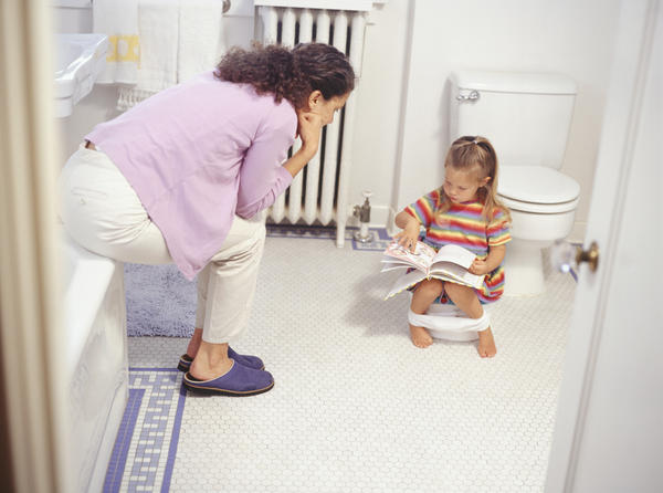 What's the best way to potty train? Is it really leaving your child without a diaper or underwear?
