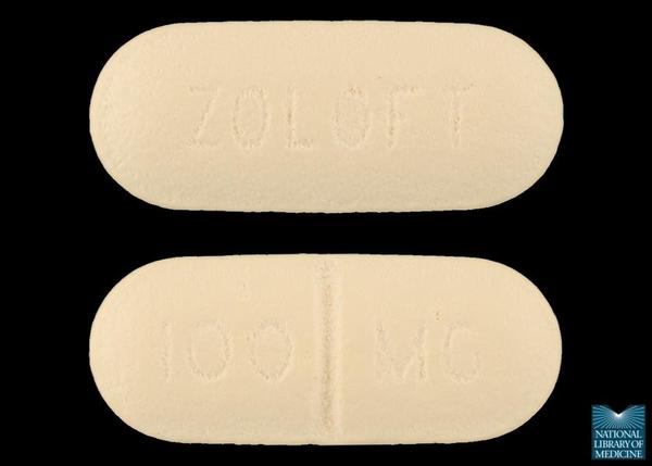 What are the common side effects of zoloft (sertraline)?