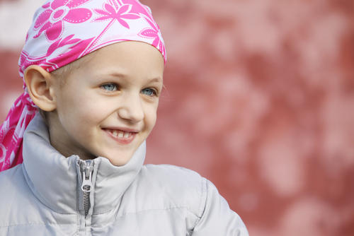 What color ribbon is dedicated to children with leukemia?