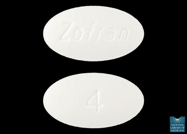 Can I take ondansetron and dramamine (dimenhydrinate) together?