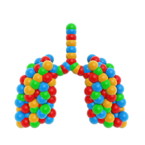 Can severe vitamin deficiencies cause poor lung function and lung inflammation?