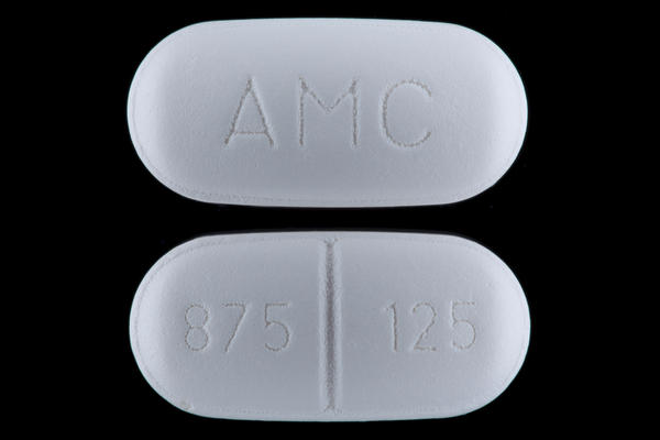 Can I take augmentin (amoxicillin and clavulanate) for costochondritis?