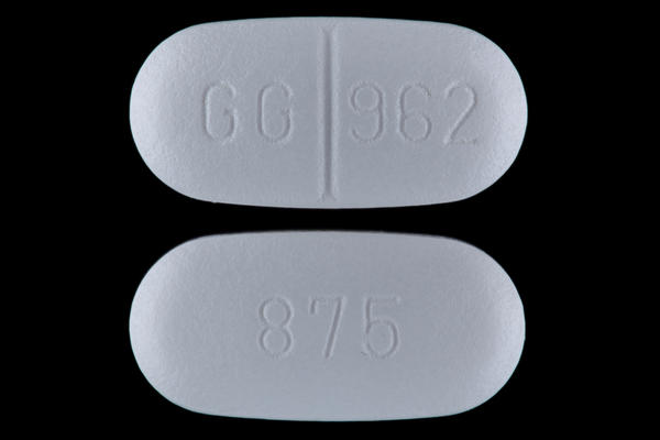 What are the various strengths in amoxicillin?