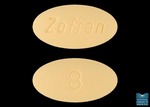 Does Zofran (ondansetron) help to cure food poisoning?