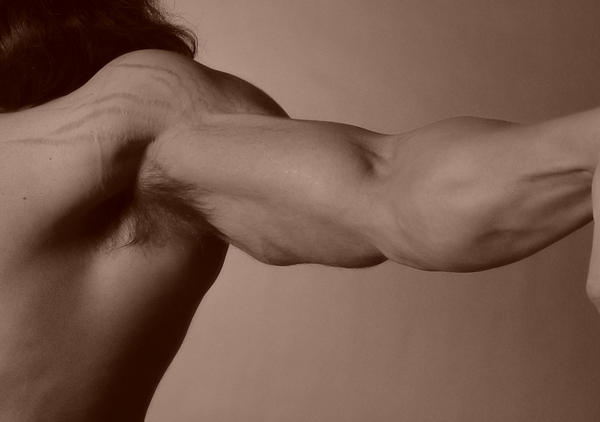 What is the definition or description of: armpit pain?