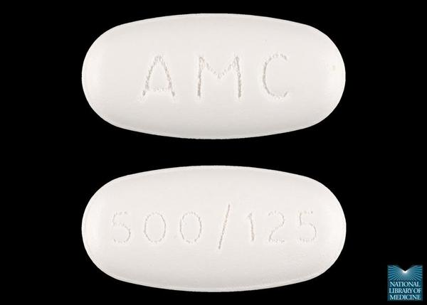 Please describe the medication: augmentin (amoxicillin and clavulanate)?