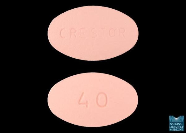 How expensive is Crestor (rosuvastatin) (40mg)?