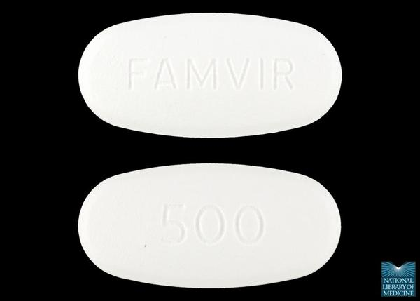 I've had herpes occassionally on my lips & nose for about 15 years. Now I'm taking Famvir (novartis) when I have the first symptoms, will it cure it forever?