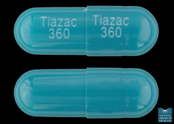 Cardizem or tiazac (diltiazem) 120 comparison?