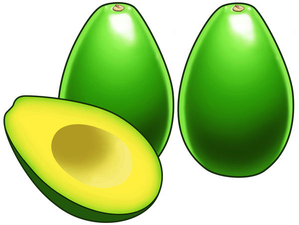 What are some avocado allergy symptoms?