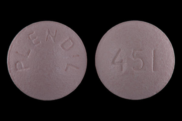 Is it best to take felodipine & fosinopril separately?