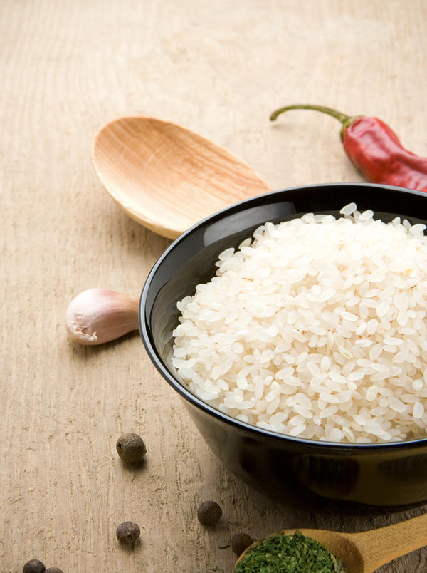 Is steamed white rice fattening? Can it replace wheat bread in a meal?  What are good edible sources of calcium besides milk and suppliments?